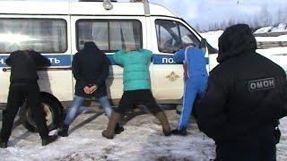 Задержание похитителей каменноугольного кокса