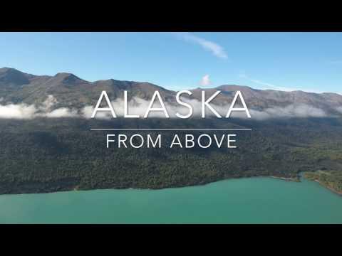 4K Alaska from above