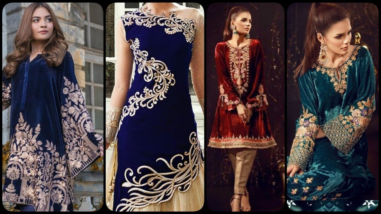 [VIDEO] - Winter latest Top Cute & Stylish Velvet Outfits Ideas 2