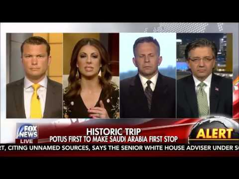 Dr. Jasser joins Fox and Friends discussing Pres. Trump's trip to Saudi Arabia 05 20 2017