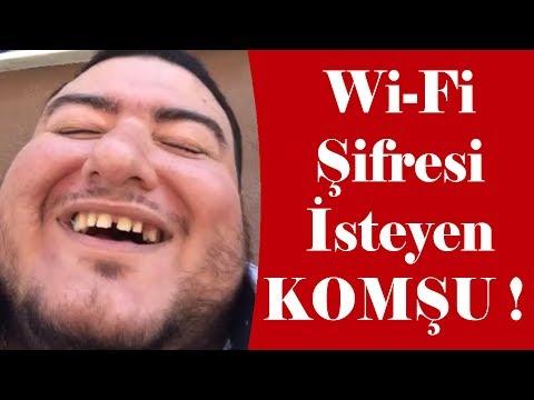 Wi-Fi Şifresini İsteyen Komşuya CEVAPLAR