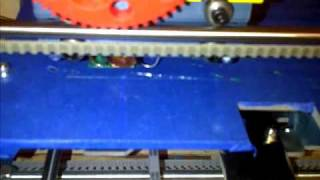 BotMill Blue Glider 3D Printer Printing A Calibration Piece Rapid Prototyping