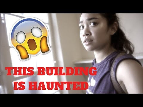 HAUNTED BUILDING AT UC BERKELEY!! (SCARY) | VLOG