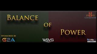 Balance of Power Ro64 | Mentalist (vs) Mahya | Game 1
