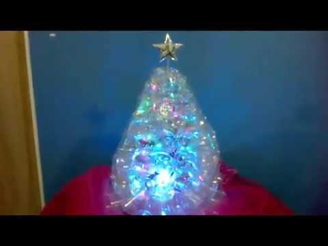 Reciclaje rbol navide o hecho con botella de pl stico - Tutorial arbol de navidad ...