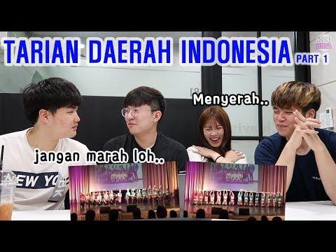REAKSI GOKIL ORANG KOREA MELIHAT TARIAN ACEH  인도네시아 아쩨지역 전통춤 보기