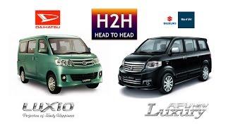 H2H #66 Daihatsu Luxio vs Suzuki APV (AT Version)