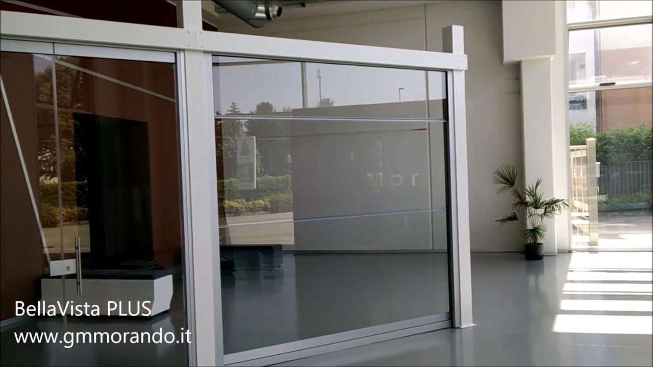 Divisori In Plastica Per Terrazzi le vetrate panoramiche pieghevoli tuttovetro giemme system