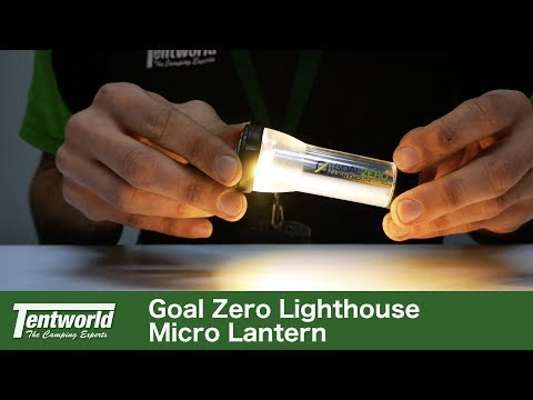 Goal Zero Lighthouse Micro Lantern Demonstration, Specifications & Review | Great little lantern!