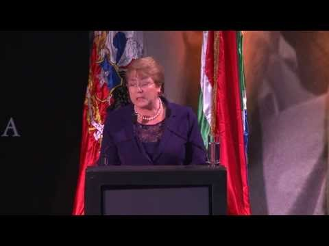 Nelson Mandela Annual Lecture 2014: Chilean President Michelle Bachelet