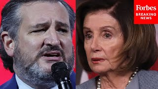 'Democrats Do Not Believe In Democracy': Ted Cruz Goes On Tear Against Dem Voting Bill