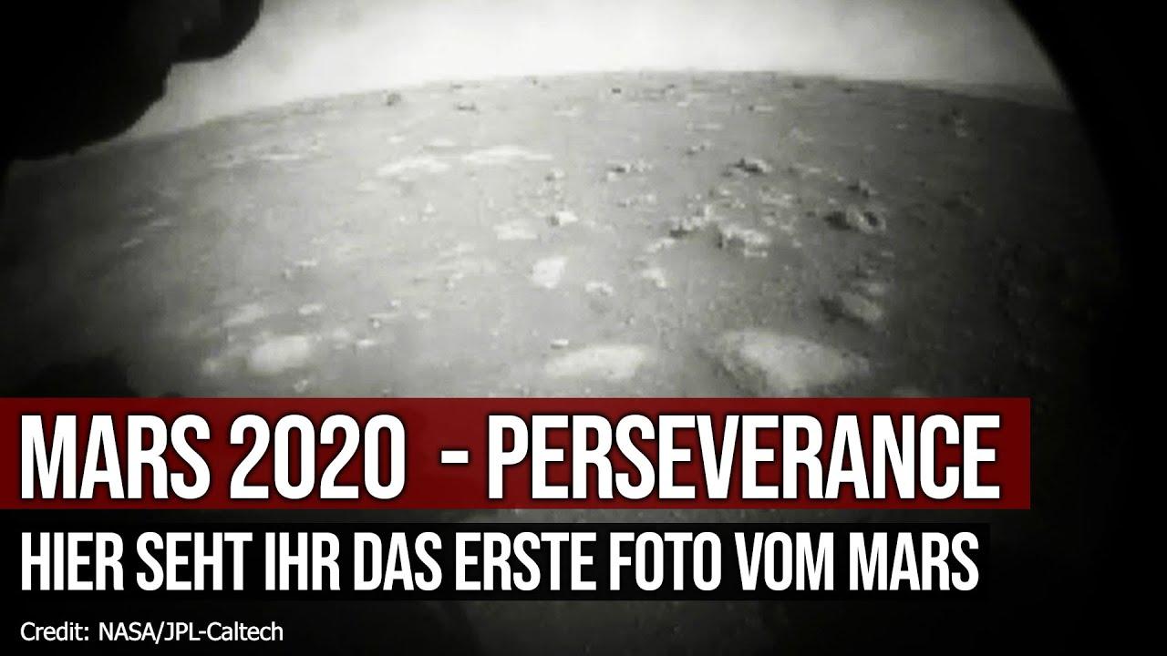 Mission Mars 2020 - Perseverance - Hier seht ihr das erste Foto vom Mars