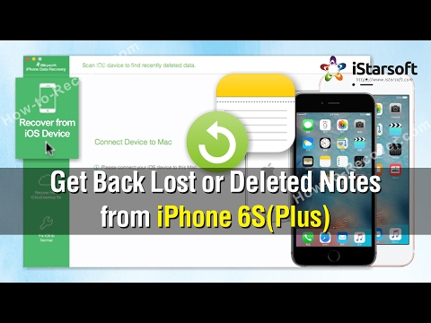 How To Get Back Lost Or Deleted Notes From Iphone 6s Plus