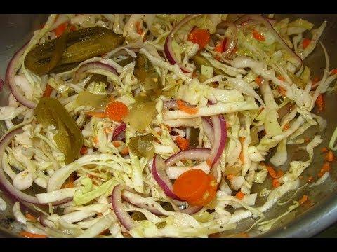 Receta como hacer cebollas en vinagre curtido doovi for Como preparar repollo