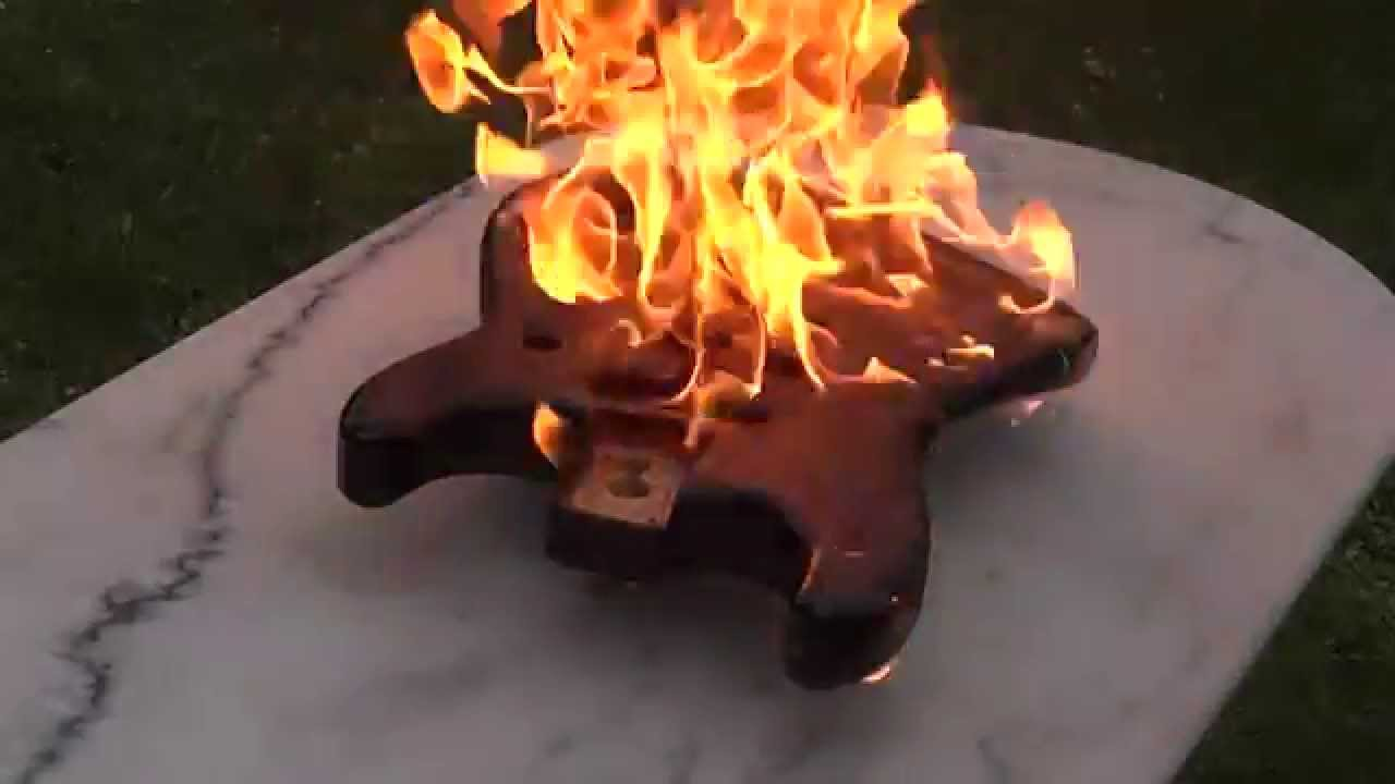 Burning Finish Stratocaster Youtube