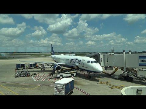 jetBlue Airways: DCA-MCO - Embraer E190