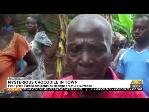 Fear grips FUMSO residents as strange creature surfaces - Adom TV News (23-7-21)
