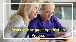 Reverse Mortgage Application Process