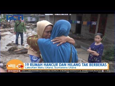 Puluhan Rumah Di Labuhanbatu Utara Terseret Banjir Bandang, 5 Orang Hilang - SIP 30/12