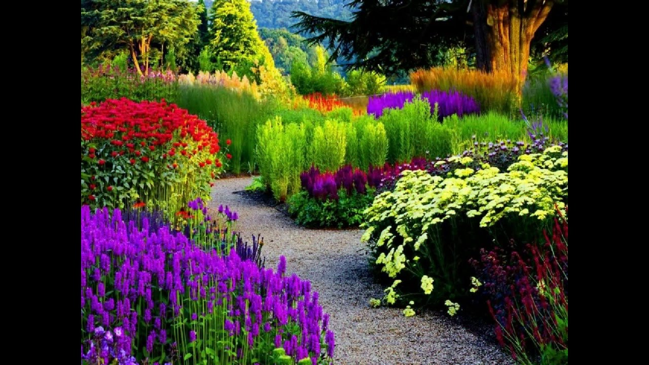 Most Beautiful Flowers Garden In The World Youtube