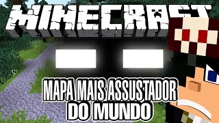 MAPA MAIS ASSUSTADOR DO MUNDO! - Minecraft (Herobrine)