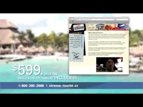 Xtreme Tourist Princess Cruise Commercial