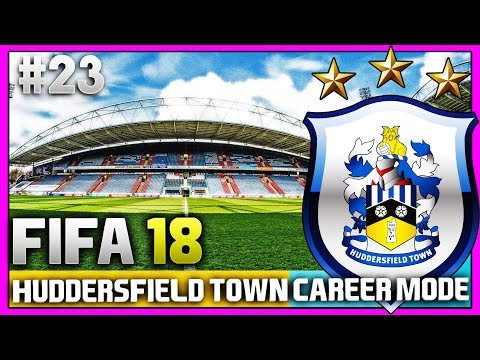 FIFA 18 | HUDDERSFIELD TOWN CAREER MODE | #23 | THE BIG FOURSOME