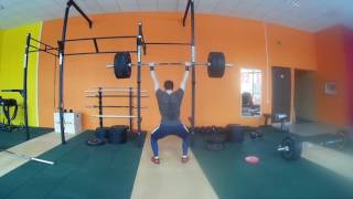 "#Тяжелаяатлетика ""ТАтреня + WOD 17.1"" Weightlifting"