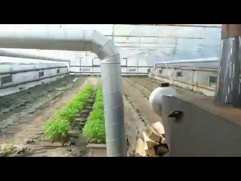 Отзыв воздушное отопление теплицы (теплогенератор GRV)