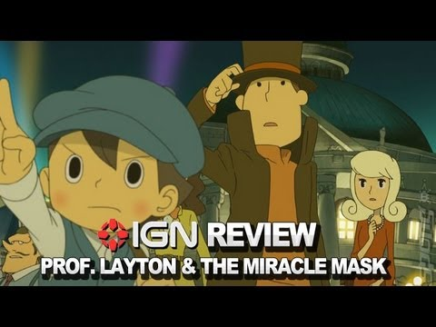Professor Layton and the Miracle Mask Video Review - IGN Reviews