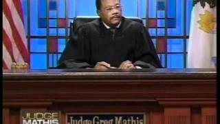 Check out Judge Mathis with tennis shoes on in court (no commercials)