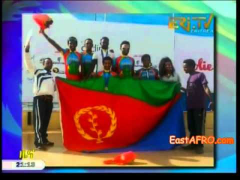 Eritrean cyclist african champion