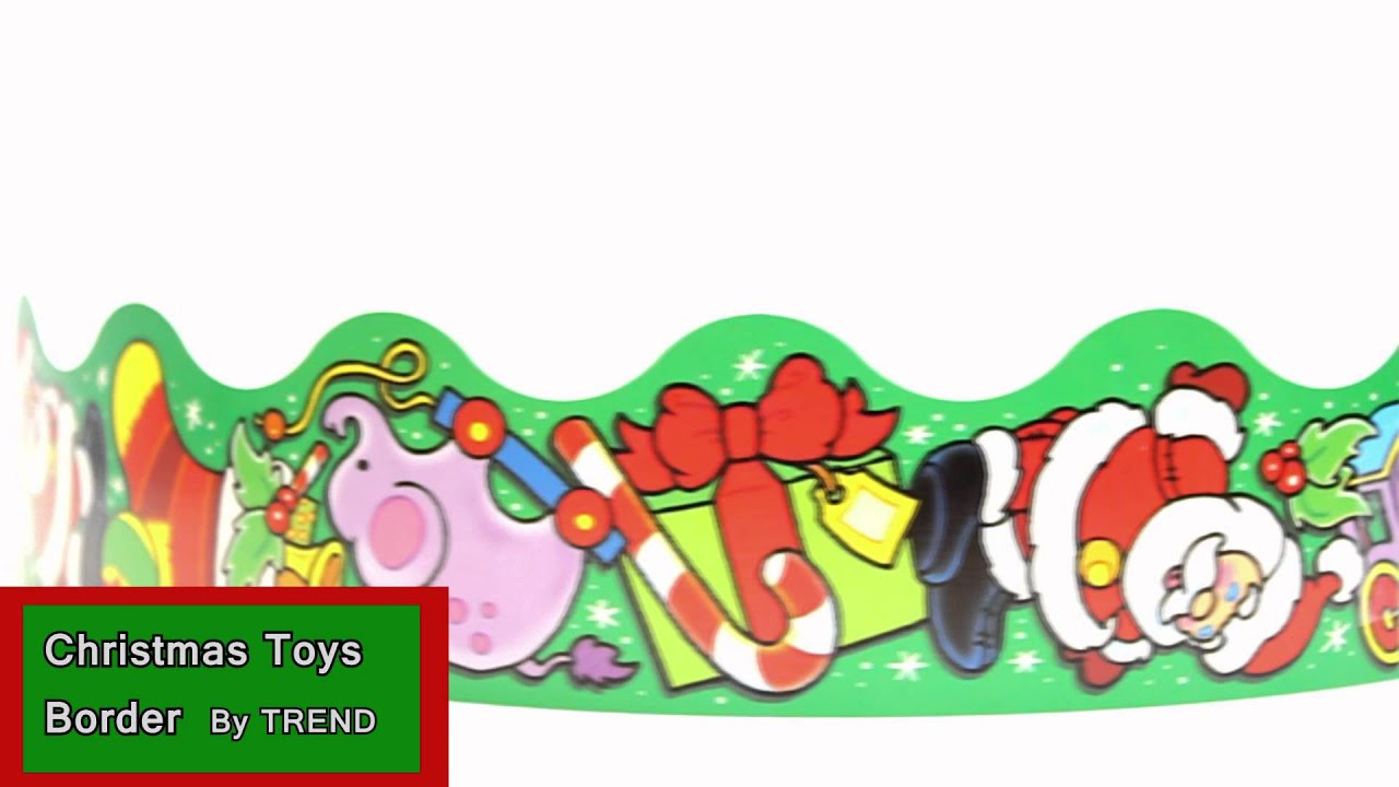 Christmas Toys Border By Trend T92008 Youtube