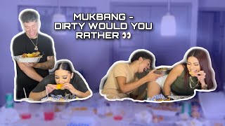 Seafood Mukbang w/ a lil dirty WOULD YOU RATHER  👀