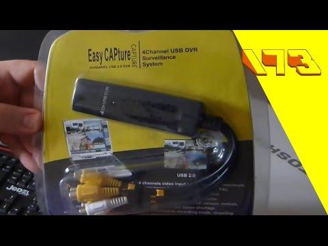 تعرف على قطعة EasyCAPture 4channel Usb 2 0 Dvr وادوارها