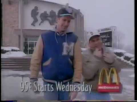 Paul BenVictor McDonald's Commercial