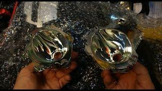 видео Замена стекла фары Рено Меган