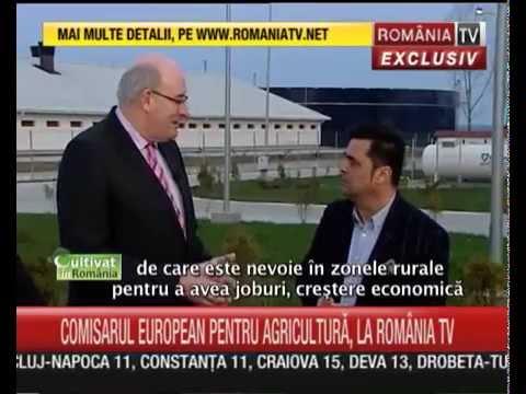 Cultivat in Romania: Comisarul Phil Hogan despre PNDR si agricultura Romaniei