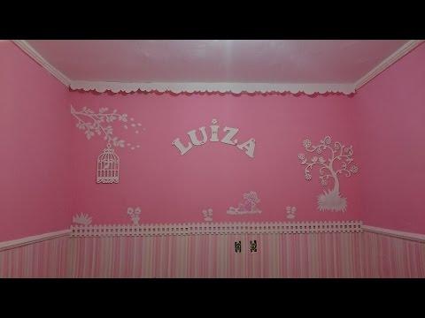 Decoração do quarto completa,  fácil e barata