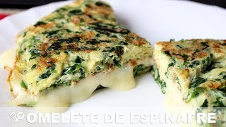 OMELETE de espinafre - RECEITA SEM CARNE - Receita Low Carb - RECEITAS QUE AMO