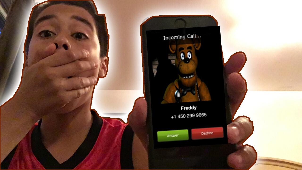 Freddy frazbears pizza phone number - Calling Freddy Fazbears Pizza Number He Answered