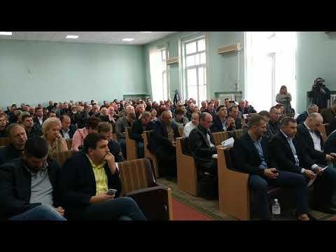 В Новомосковске наконец-то состоялась законная сессия 27.09.2019г.