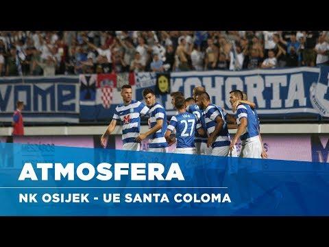 Atmosfera: NK Osijek - UE Santa Coloma (1. pretkolo Europske lige)