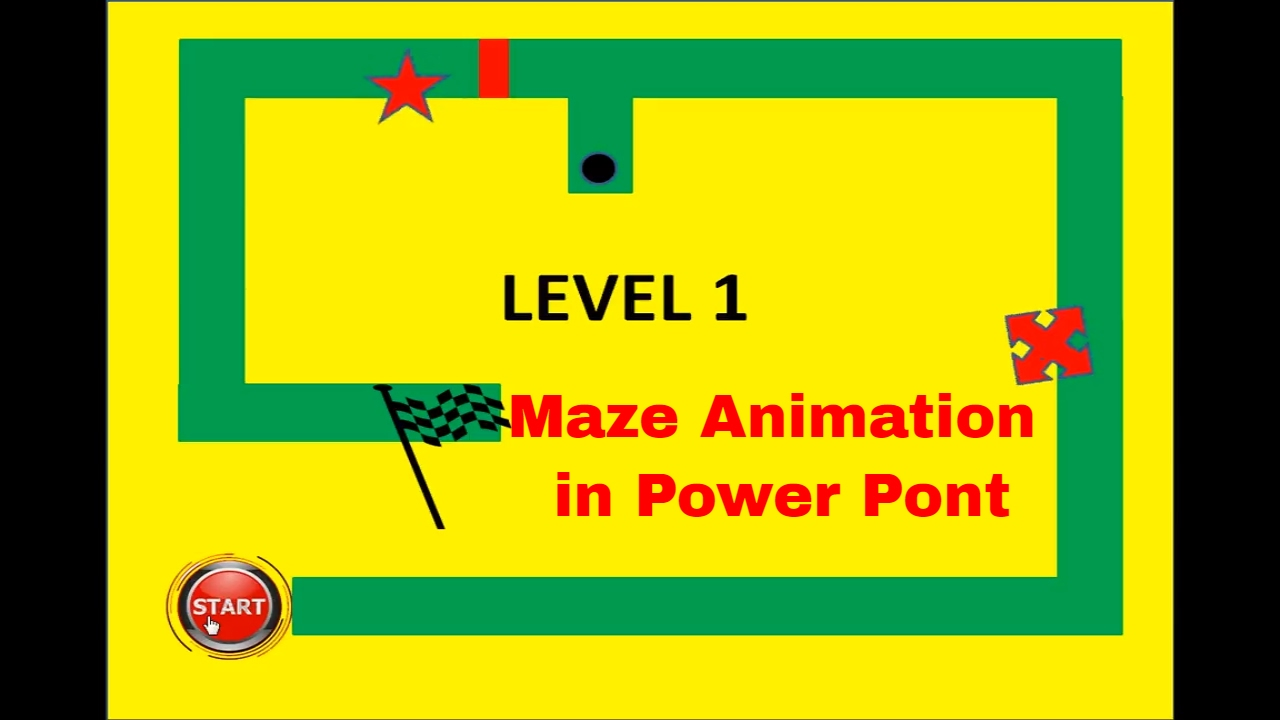 How to make maze game animation in power point youtube how to make maze game animation in power point toneelgroepblik Image collections