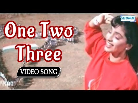 One Two Three  Juhi Chawla  Shanthi Kranthi  Best Kannada Songs
