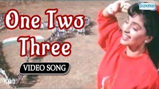 One Two Three - Juhi Chawla - Shanthi Kranthi - Best Kannada Songs