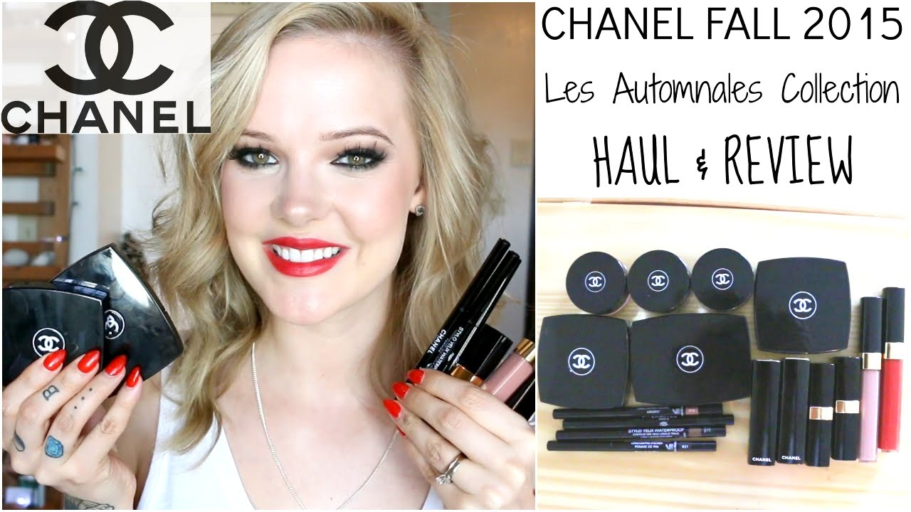 Automnales les chanel fall makeup collection