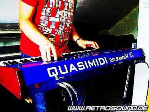 "Quasimidi The Raven Max Synthesizer (1996) ""Backflash"""