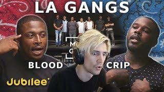 xQc Reacts to Can Rival Gangs Coexist Peacefully? | xQcOW