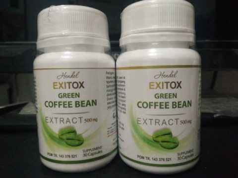 085334588611 HARGA GREEN COFFE EXITOX HENDEL ASLI MURAH
